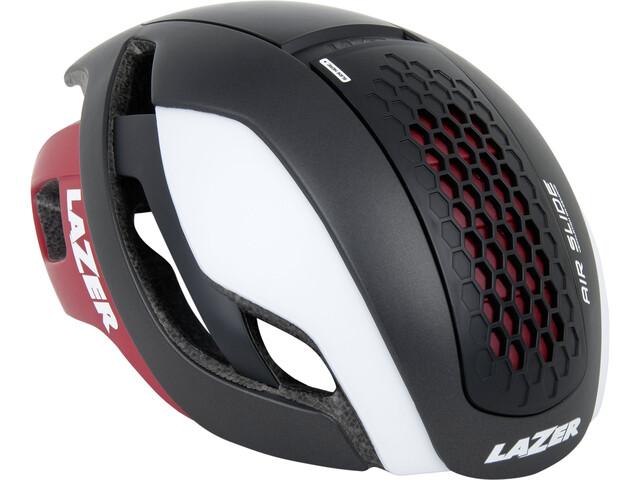 Lazer Bullet Helmet matte black/white red